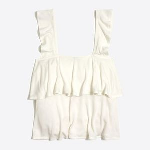 Jcrew Mercantile tiered ruffle tank